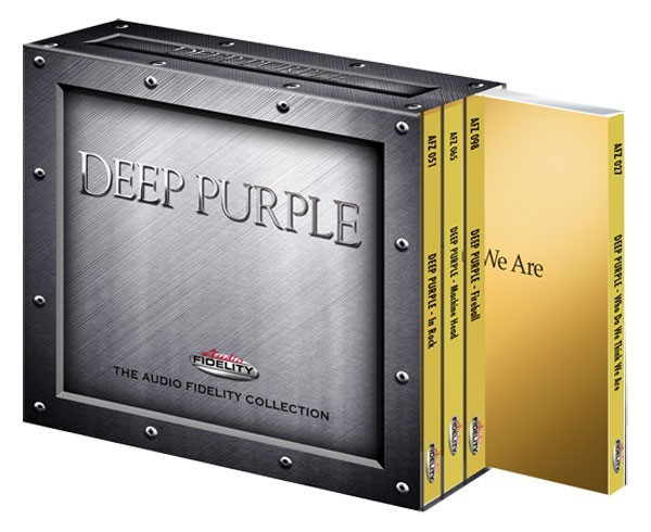 Deep Purple - The Audio Fidelity Collection (24k gold 4CD) [Box Set]