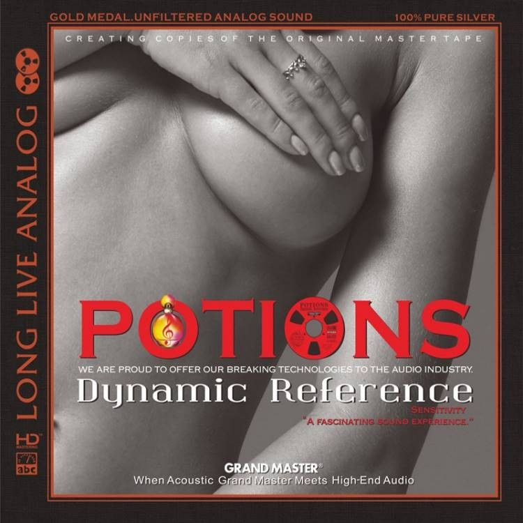 Various Artists - Potions-Dynamic Reference (AAD HD-Mastering CD) 2017