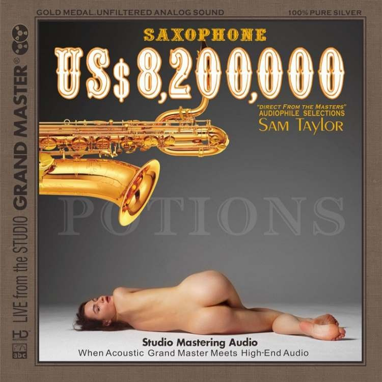 Sam Taylor - US$ 8,200,000 Saxophone (AAD HD-Mastering CD) 2017