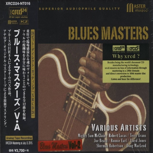 Various Artists - Blues Masters Vol.2 (Japan XRCD24)