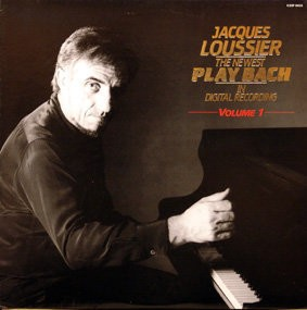 Jacques Loussier - The Newest Plays Bach (Japan LP) 1985 used
