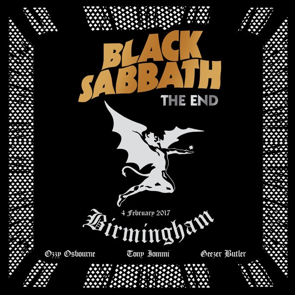 Black Sabbath - The End: Live In Birmingham (Blu-ray+CD) 2017