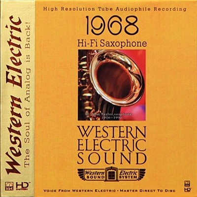 Sam Taylor - Western Electric Sound—Hi-Fi Saxophone (HD-Mastering CD)