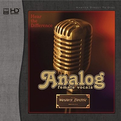 Various Artists - Analog Female Vocals (HD-Mastering CD)