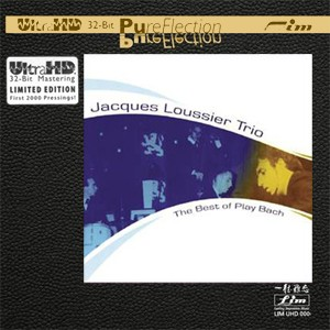 Jacques Loussier Trio - The Best of Play Bach (UltraHD 32Bit PureFlection CD)