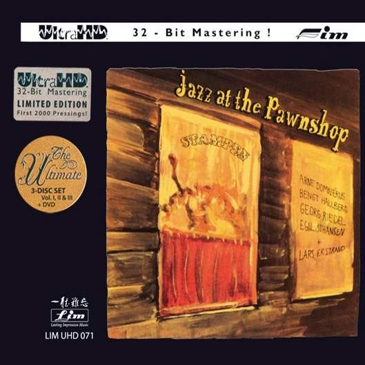 Various Artists - Jazz At The Pawnshop Vol.1, 2 & 3 (3CD+DVD) (UltraHD 32bit CD)