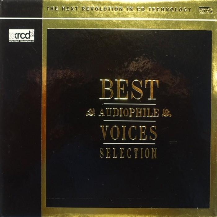 Various Artists - Best Audiophile Voices Selection (Japan XRCD2) 2017