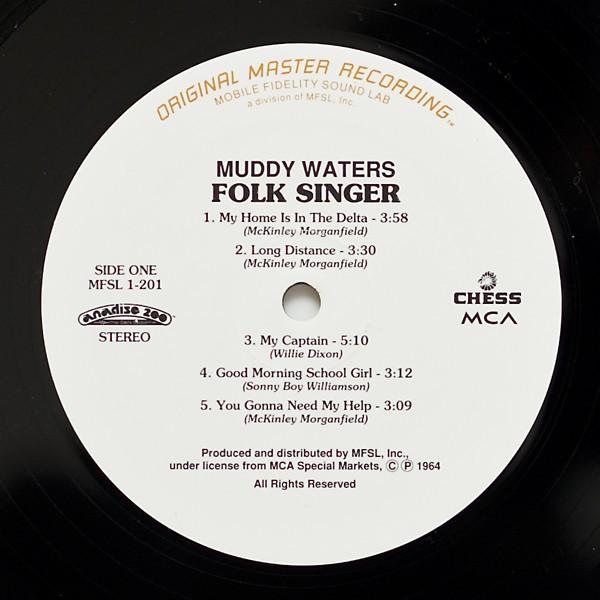 muddy waters folk singer lp