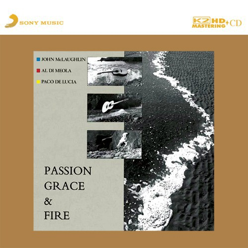 Paco De Lucia, Al Di Meola, John McLaughlin - Passon, Grace & Fire (Japan K2HD CD)