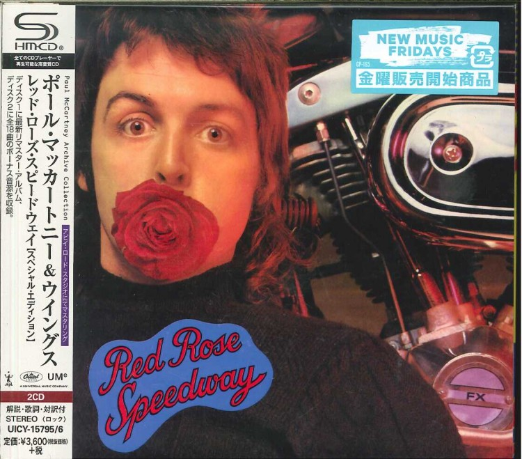 Paul McCartney and Wings - Red Rose Speedway (2 SHM-CD) 2018