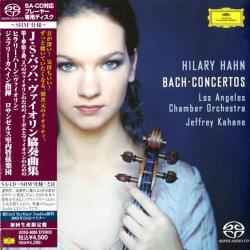 Hilary Hahn - Bach Concertos (Single-Layer SHM-SACD)