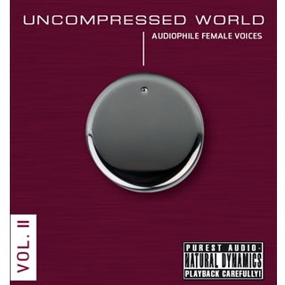 Various Artists - Uncompressed World Vol. 2: Audiophile Female Voices (180g Vinyl 2LP)