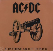 AC/DC - For Those About To Rock [We Salute You] (Vinyl LP)