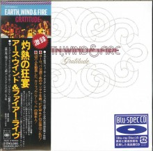 Earth, Wind & Fire - Gratitude (2СD) [Mini LP Blu-spec CD] 2012