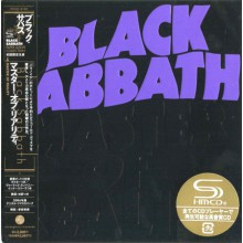 BLACK SABBATH - Master Of Reality [Mini LP SHM-CD]