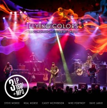 Flying Colors - Second Flight: Live At The Z7 (180g Vinyl 3LP) 2015