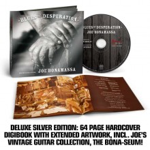 Joe Bonamassa - Blues Of Desperation (Deluxe Silver Edition) (CD) 2016