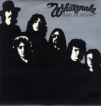 Whitesnake - Ready An' Willing [Vinyl LP] used