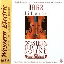 Various Artists - Western Electric Sound—Hi-Fi Violin (HD-Mastering CD)