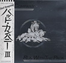 BAD COMPANY - Run With The Pack [Japan Mini-LP CD]