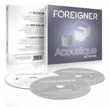 Foreigner - Acoustique: The Classics Unplugged (2CDs+DVD)