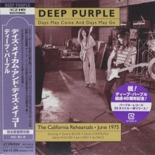 DEEP PURPLE - Days May Come..[Mini-LP K2HD CD]