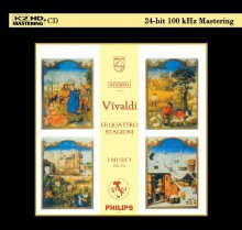 Vivaldi - The Four Seasons (K2HD CD)
