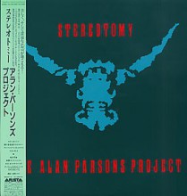 Alan Parsons Project - Stereotomy (Japan vinyl LP) 1985 used
