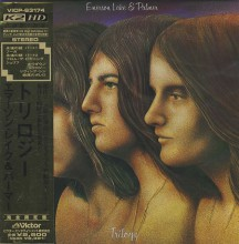 EMERSON LAKE & PALMER - Trilogy [Mini-LP K2HD CD]