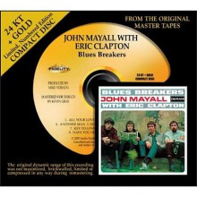 John Mayall with Eric Clapton - Blues Breakers (24 KT Gold CD)