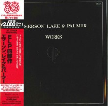 EMERSON LAKE & PALMER - Works Volume 1 (Victor's 80th anniversary) (2CD) [Mini-LP K2HD CD]