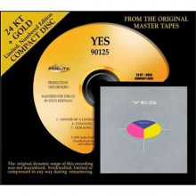 Yes - 90125 (24 Karat Gold CD)