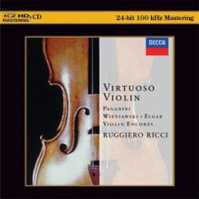 Ruggiero Ricci - Virtuoso Violin (Japan K2HD CD)