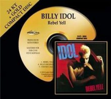 Billy Idol - Rebel Yell (24KТ Gold/HDCD)