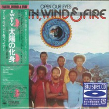 Earth, Wind & Fire - Open Our Eyes [Mini LP Blu-spec CD] 2012