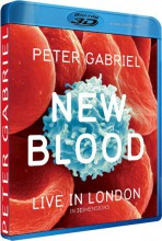 Peter Gabriel - New Blood - Live In London [3D Blu-ray + Blu-ray + DVD] 2011