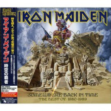 IRON MAIDEN - Somewhere Back In Time [Japan CD]