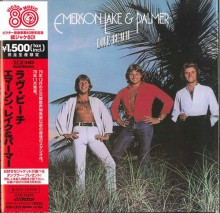 EMERSON LAKE & PALMER - Love Beach (Victor's 80th anniversary) [Mini-LP K2HD CD]