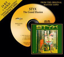Styx - The Grand Illusion (24 Karat Gold CD)