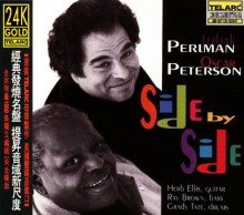 Itzhak Perlman & Oscar Peterson - Side By Side (Japan 24K Gold CD)