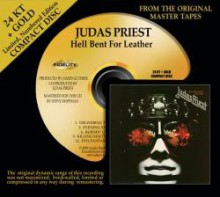 Judas Priest - Hell Bent For Leather (24 KT Gold CD)