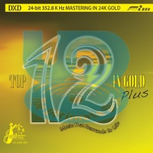 Various Artists - Top 12 in Gold [DXD 24K Gold CD] (Ultimate Disc)