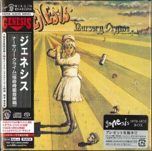 GENESIS - Nursery Cryme (2CD) [Japan SACD+ DVD]