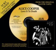 Alice Cooper - Love It To Death (24 KT Gold CD)