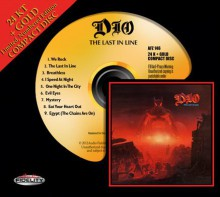 Dio - The Last In Line (24 KT Gold CD)