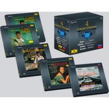Various Artists - 4 Great Operas (Esoteric 9-SACD Box Set)