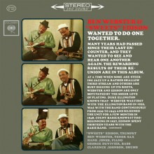 "Ben Webster & ""Sweets"" Edison - Wanted To Do One Together (45rpm 180g 2LP)"
