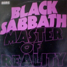Black Sabbath - Master Of Reality (1st UK Pressing LP 1976)