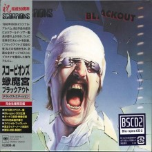 Scorpions - Blackout (50th Anniversary Deluxe Edition) (CD+DVD) (Japan Blu-Spec CD2) 2015