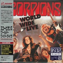Scorpions - World Wide Live (50th Anniversary Deluxe Edition) (CD+DVD) (Japan Blu-Spec CD2) 2015